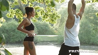 Private.com - Young Russkie Teen Kris the Foxx Doggy Fucked!