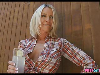 Country footjobs - A good old country milf
