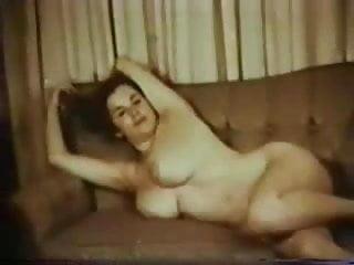 Hairy pussy posing Vintage big bust lady posing