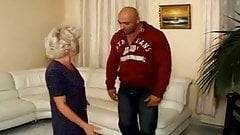 Granny Gangbanged my Muscled Studs