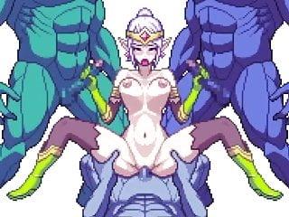 Hentai mega breast Mega pixels