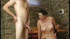 young boy fucks mature woman