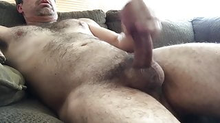 Balls View of Me Jerking Off
