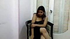 Arab girl undresses for husband