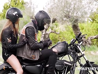 Writers erotica Private.com - writer alexis crystal fucked in biker gear