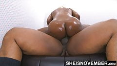 4k Msnovember's Painful Anal Reverse Cowgirl Riding Buttfuck