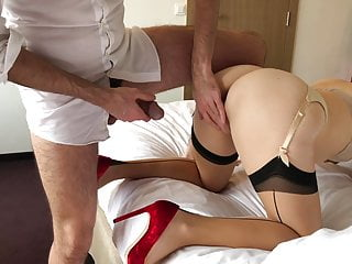 Too big for mature - Cock too big for red heels wife