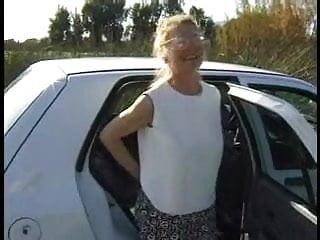 British mature picture woman - Older british woman outdoor