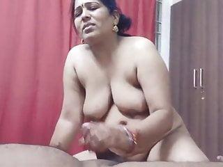 Indian Randi Bhabhi Giving Blowjob