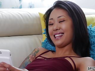 Big cocks small pussys - Saya song fill her tight little asian pussy with huge cock