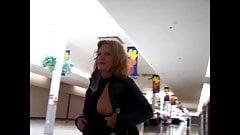 Flashing Tits at Malls