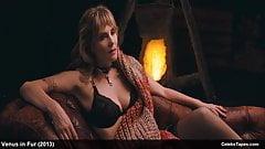 celeb actress emmanuelle seigner nude & lingerie in movie