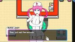 Oppaimon Hentai Pixel game Ep.3 creampie nurse pokemon sex