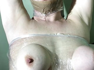 Tits slapped and fucked hard - Little slave bitch tit slapping hard whit hand