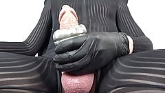 PREVIEW video - 8 inches big cock & fleshlight torture