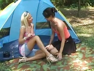 Campsites nudist Femdom at the campsite