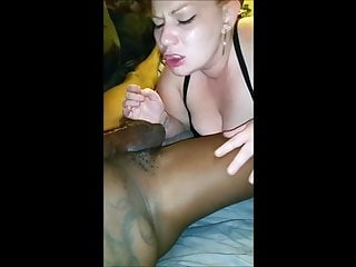 Black dicks video White chics love those big black dicks