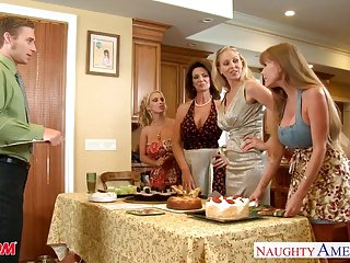 Bottom climbing tower crane Moms darla crane, deauxma, holly halston and julia ann shari