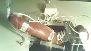 Electro torture board CBT - Syringe cumshot