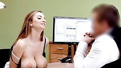LOAN4K. Hot girl with big boobs looking for a loan