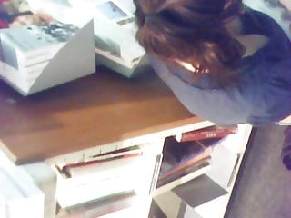 The book of rexx porn wow Large and deep downblouse at the book shop