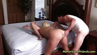 Mom and StepDad Love Threesomes with Their Babysitter