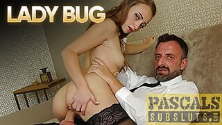 PASCALSSUBSLUTS - Lady Bug Anally Fucked With Cumshot In Mouth