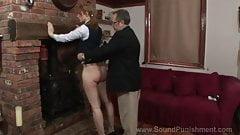Sound punishment: Caroline gray spanked and shamed