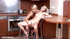 Lovely Lappers by Sapphic Erotica - lesbian love porn with