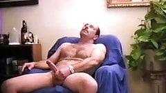 Sensual moustache masturbing 2