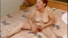 Great masturbation of my pervert mature wife. Must see !