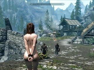 Erotic peril - Perils of escaped skyrim slavegirl 19