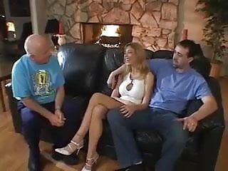 Stranger fucked by pornstar Papa- - husband loans stripper wife to stranger