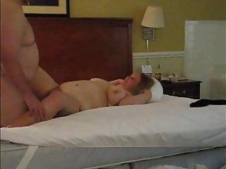 Amateur cum shot - Bbw wife - missionary with cum shot