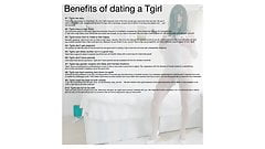 Tgirl Scarlette and the Benefits of dating a Tgirl