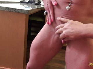 Pictures of female porn stars Female bodybuilder porn star ashlee chambers pov blowjob