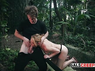Teen booty stalkers free seens Raylin ann gets fucked by her stalker