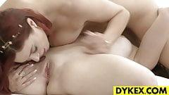 Stunning Lez Punishing A Pretty Slut