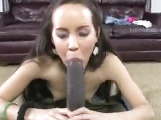 Big black chick dick latina tiny Bbc pummels tiny chick