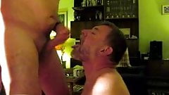 Daddy needed a pissdrinking Cocksucker