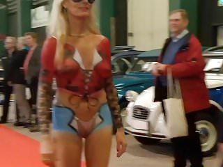 Carlisle car show nude Car show cameltoe 2