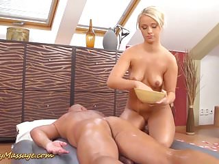 Ass babe gets - Big ass babe gets slippery fucked