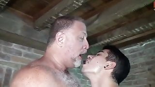 Dad and Step Son passionate bareback fucking