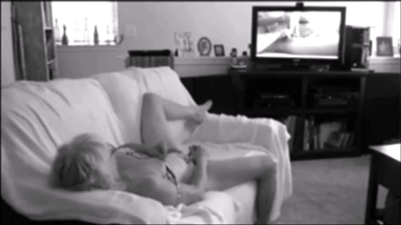 Wife caught masturbating on hidden cam