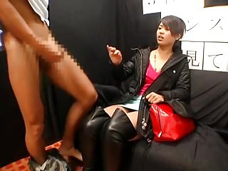 Asian gallery jerking ladyboy off shemale Cute asian girl gets flashed jerked off on