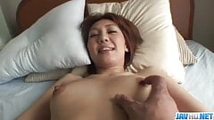 Amateur Mao Hosaka gets fucked in POV style