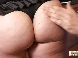 Wife wears pantyhose for husband Yummy mummy wears her new sexy lingerie for her husband