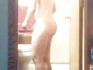 Clover from totaly spies naked - Naked wife spied leaving the bathroom