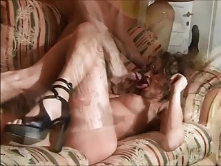 Curly brunette boobs Beautiful curly brunette facial 2