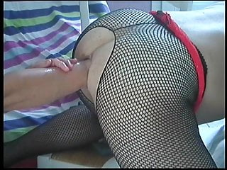 Dilatation anal gay Femdom, double fist, dilatation, extreme